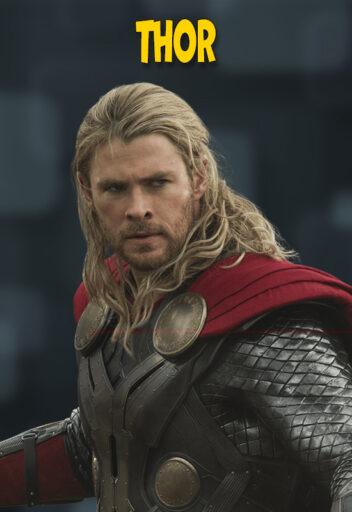 Thor hijo de Odín