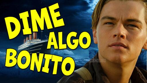 Jack y Rose en dime algo bonito (Titanic)